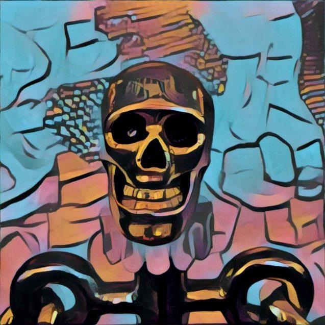 Blingy Skull