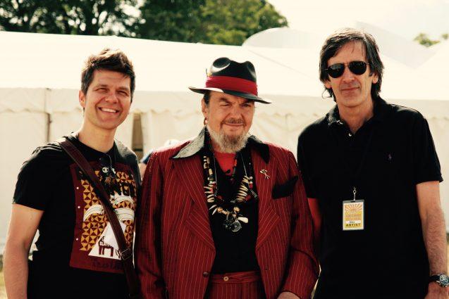 Dr John, David Fitzsimons & Stefan Redtenbacher