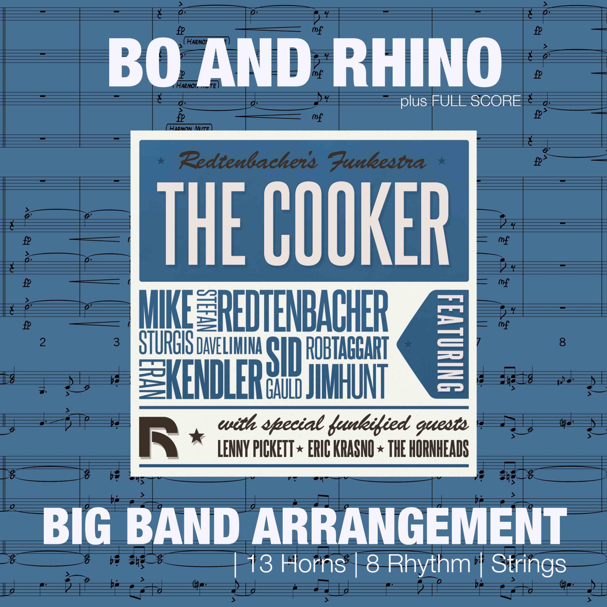 Bo And Rhino | Big Band Arrangement