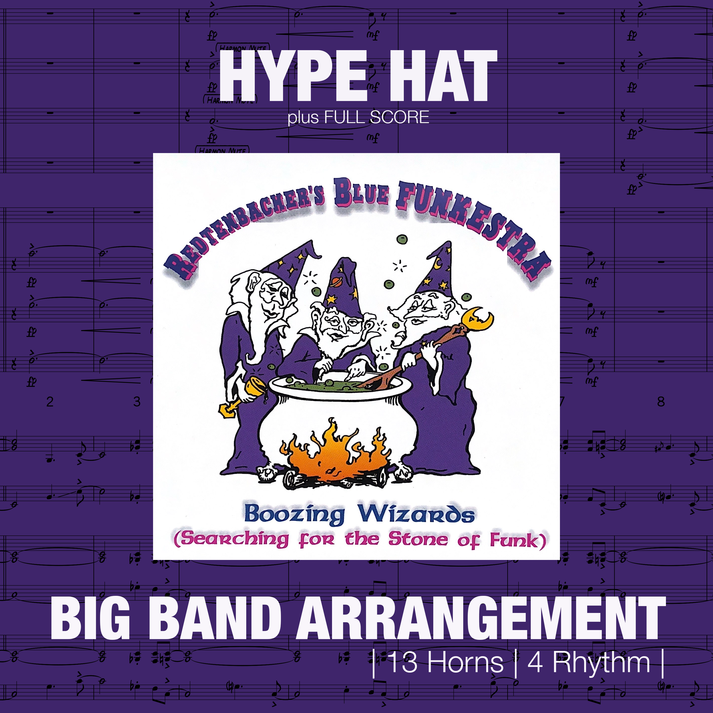Hype Hat | Big Band Arrangement