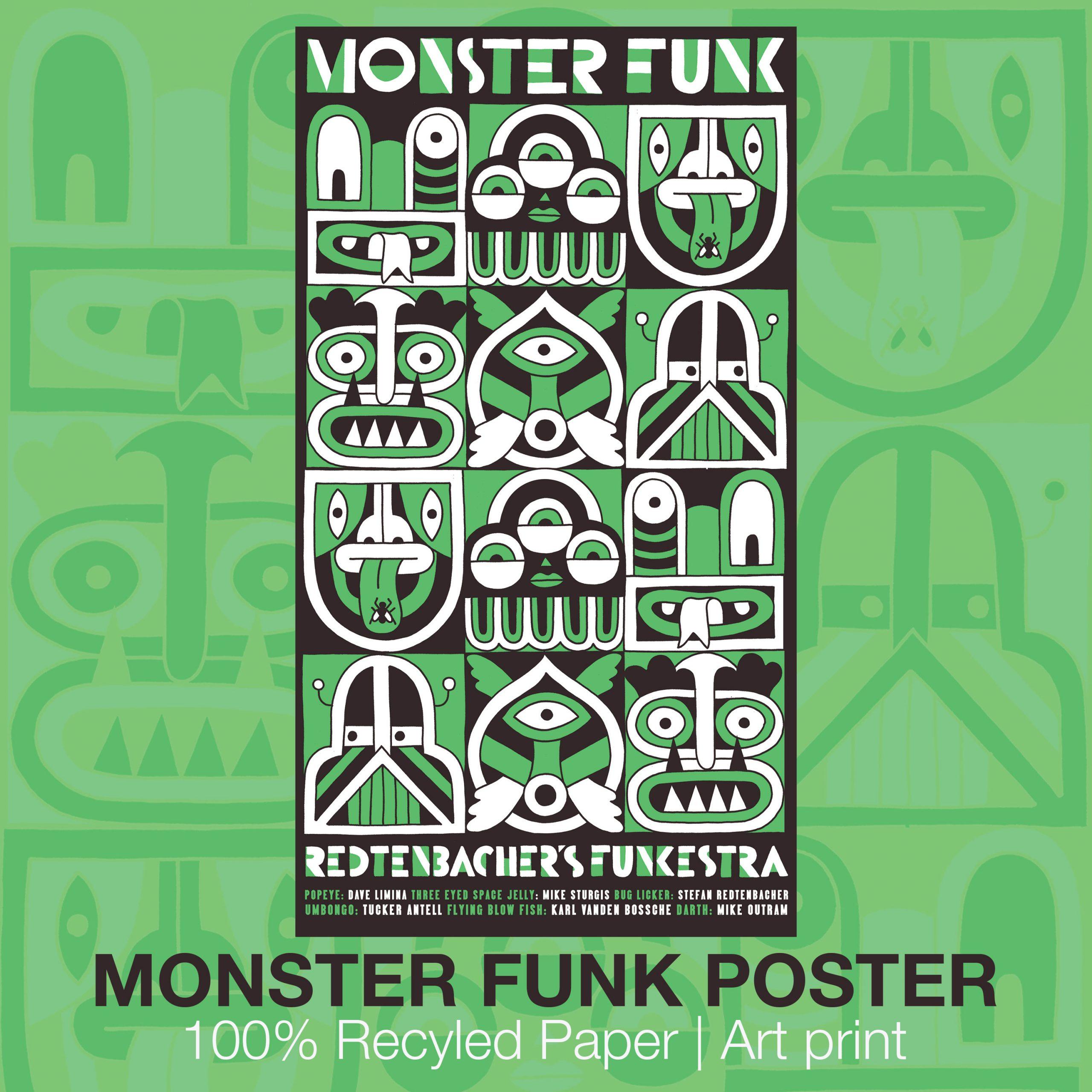 Monster Funk Poster | Art Print
