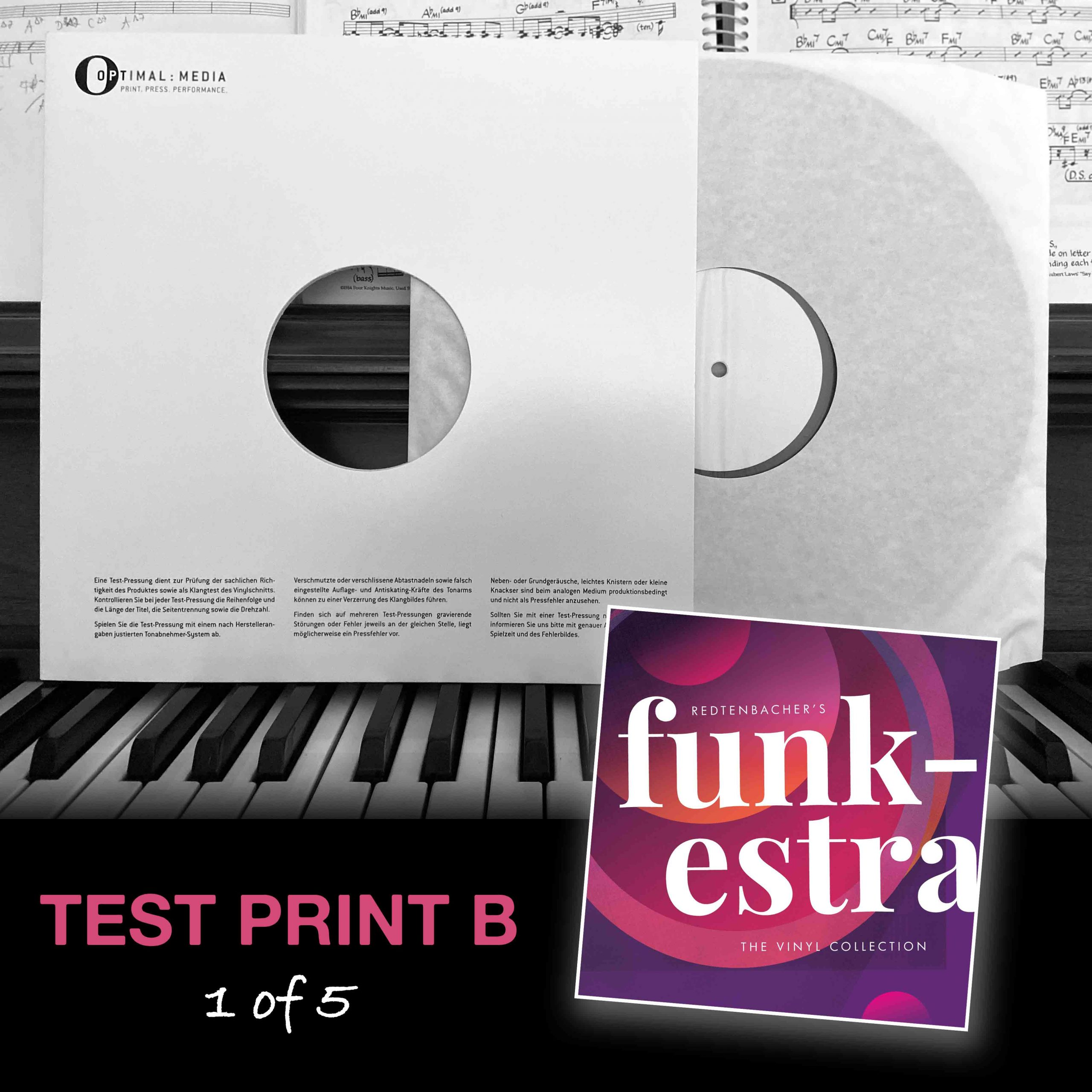 The Vinyl Collection | Test Print Series B
