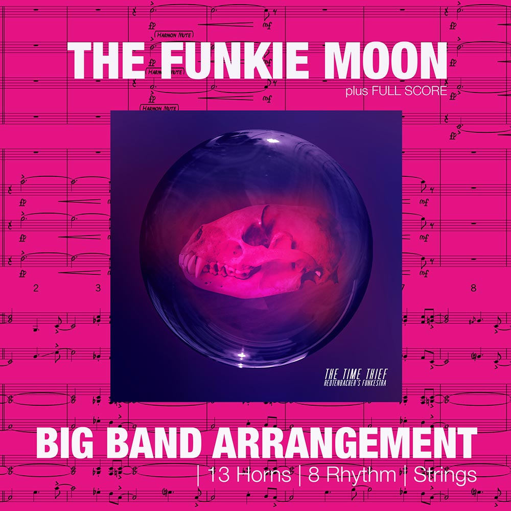 Funkie Moon | Big Band Arrangement